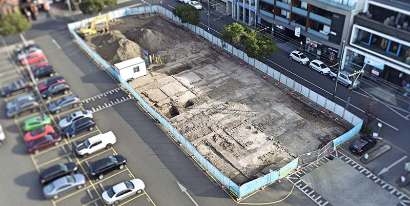 Image of Cato St Dig Site