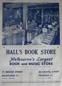 Hall's Book Store image