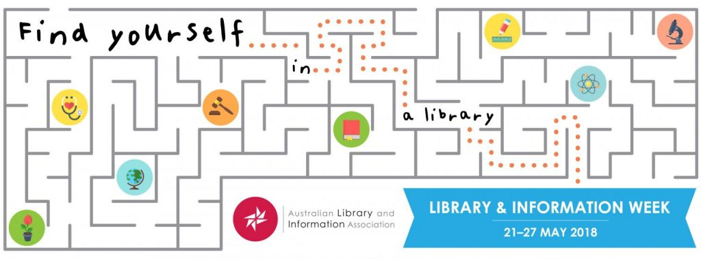 Library and Information Week Banner