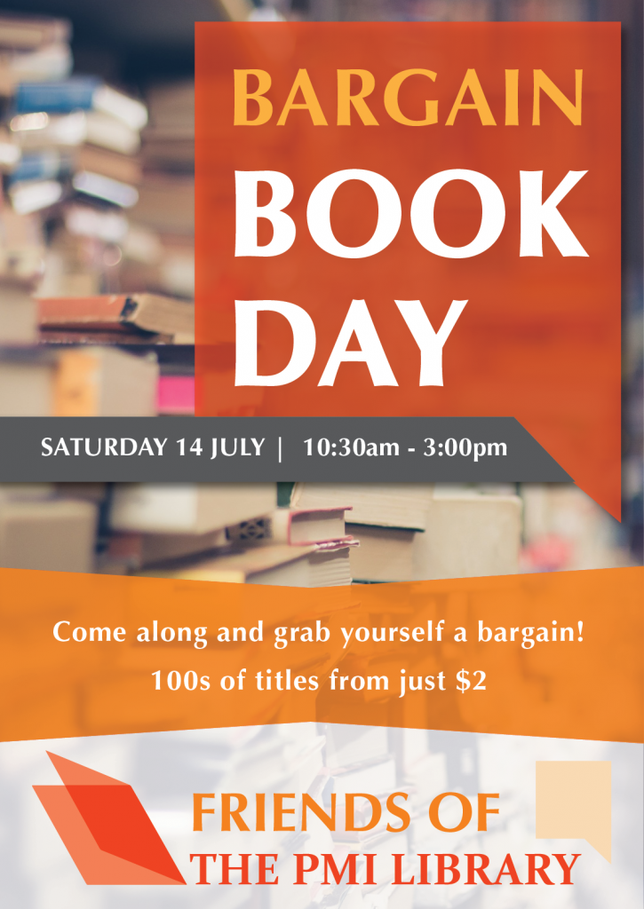 Bargain Book Day Poster
