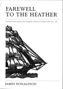 Book cover Farewell to the Heather