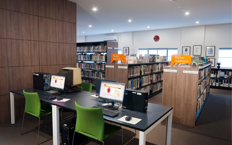 Image of PMI Public Computers Area