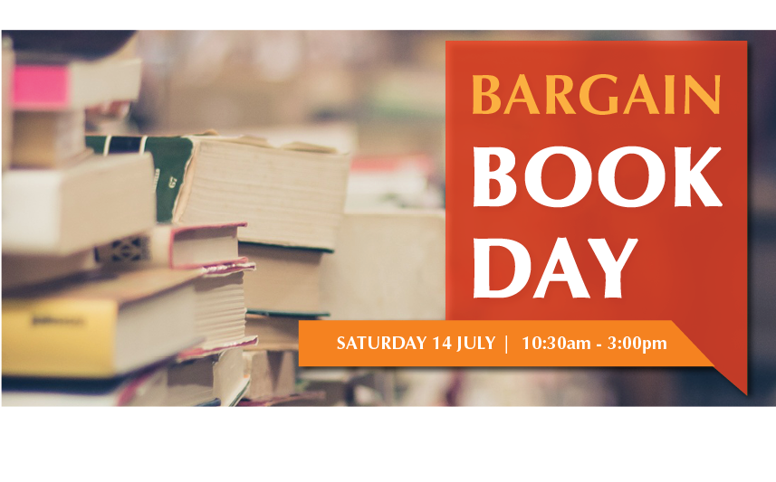 Bargain Book Day Image