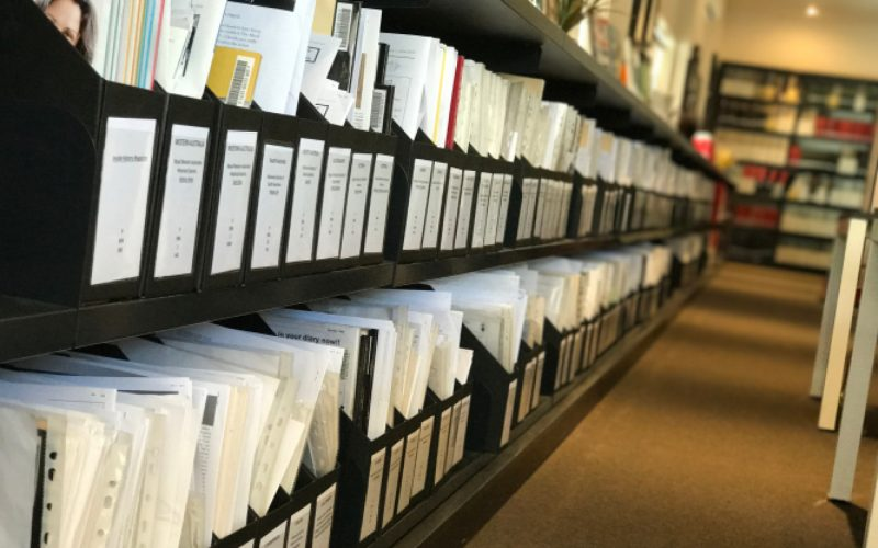 Photo of PMI's Journal collection