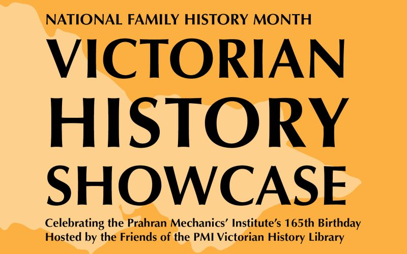Victorian History Showcase image - map of Victoria